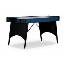 Аэрохоккей «Blue Ice» 5 ф (152 х 76 х 80,5 см, черно-голубой, складной)