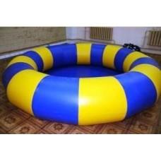 Бассейн круглый надувной для бамперных лодочек